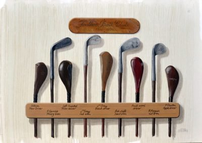 Vintage Golf; Feather Ball Clubs