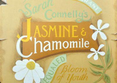 Spa Label 4; Jasmine and Chamomile