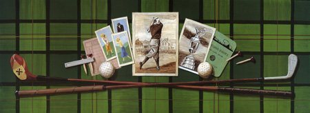Vintage golf collection -  green