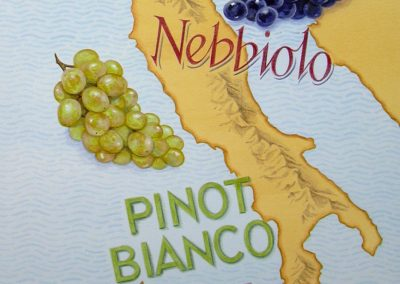 Wine map - Italy